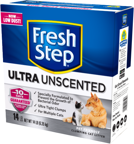 fresh step odor shield unscented