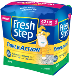 fresh step  triAct scented