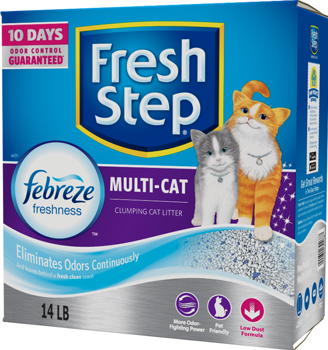 Fresh Step Multicat with Febreze