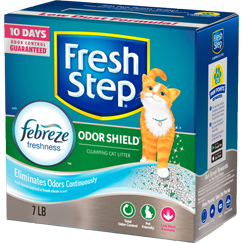 Fresh Step Odor Shield Scented